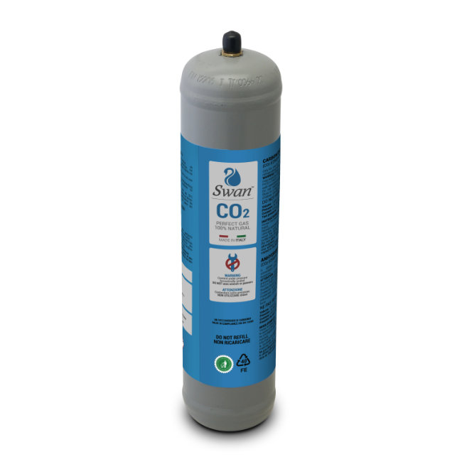Bombola Co2 Usa e Getta 600gr Swan